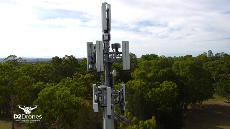 drone asset cell tower inspection